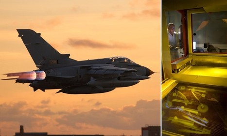 Now you can print your own TORNADO! RAF fighter jets fly for the first time using parts made with a 3D printer | Technology in the Business Tomorrow | Scoop.it