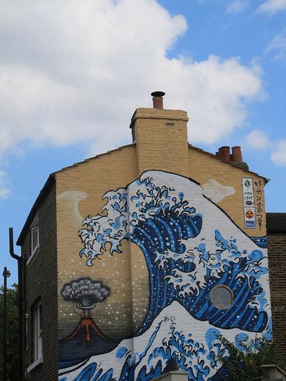 Tsunami | Street Art and Street Artists | Scoop.it