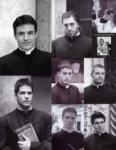 Les prêtres les plus sexy du Vatican ont désormais leur calendrier   Advertising trends   Scoop.it