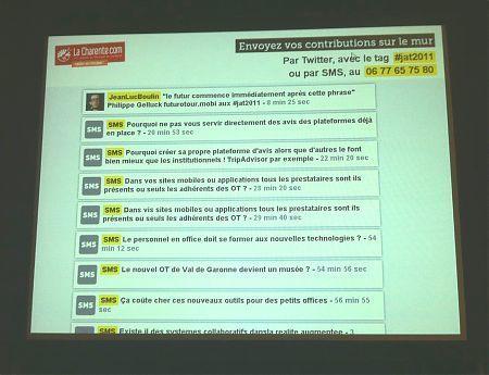 etourisme.info: Mise en place d'un mur contributif lors d'une manifestation•Le Blog du etourisme institutionnel | Etourisme : boite à outils | Scoop.it