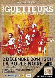 LES GUETTEURS 02/12/14, Festivals et concerts reggae, agenda, France, paris, musique, dancehall, roots, dub, ska, kreyol | Les Guetteurs | Scoop.it
