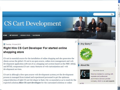 CS Cart Development: Right Hire CS Cart Developer For started online shopping store | CS Cart Developer-Your Online Business on the Way of opportunity | Scoop.it
