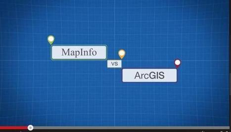 MapInfo® Pro 64bit v's ArcGIS | GIS | Scoop.it