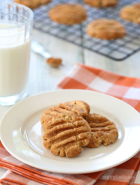 #RECIPE - Skinny Pumpkin Spiced Snickerdoodles | The Man With The Golden Tongs Hands Are In The Oven | Scoop.it