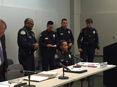 LA Police Department's first Black female captain retires | Compton Herald | Gender and Crime | Scoop.it