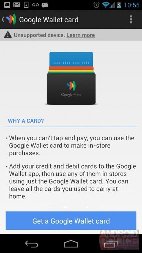 Une carte de crédit (physique) avec Google Wallet | Social Media Curation par Mon Habitat Web | Scoop.it