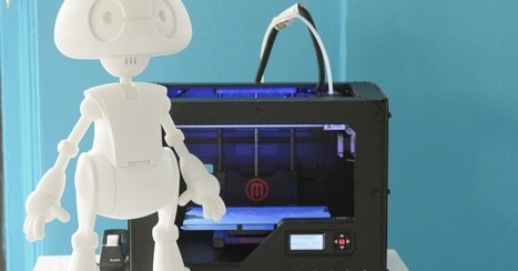 You, Too, Can 3D Print Your Own Robot  [VIDEO] | Robolution Capital | Scoop.it