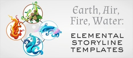Earth, Air, Fire, Water: Elemental Storyline Templates - eLearning Brothers | eLearning Templates | Scoop.it
