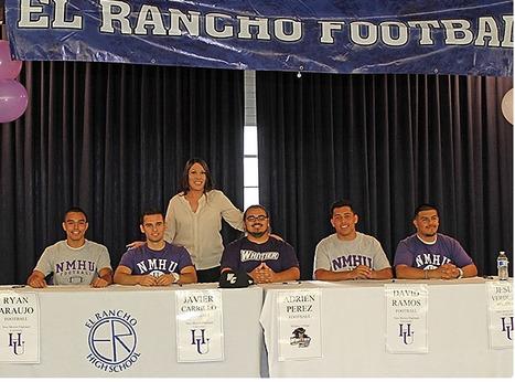 College Football Signing Ceremony | El Rancho High School | Scoop.it