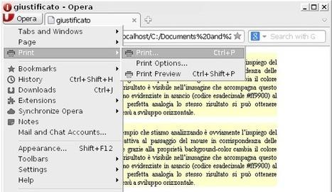 CSS, un foglio di stile per la stampa (parte 1) | Tutorials Photoshop, Web Design, Design | Mr Flock | Webdesign | Wordpress | Joomla | Design | Scoop.it