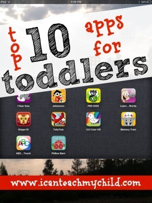 Top 10 Apps for Toddlers | 1:1 iPads or Tablets in the Classroom | Scoop.it