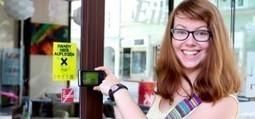 Scanner un autocollant et lire les ouvrages de la bibliothèque d'Autriche? Oui, oui… | BiblioLivre | Scoop.it