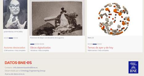 Biblioteca Nacional de España. Portal de datos bibliográficos según modelos y estructuras de la Web Semántica | RECURSOS PARA EDUCACIÓN Y BIBLIOTECAS | Scoop.it