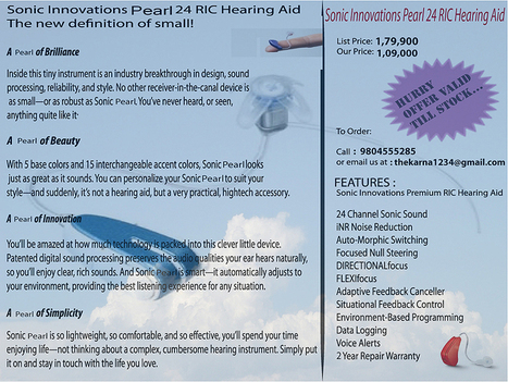 Discount in Hearing Aid | Health | Scoop.it