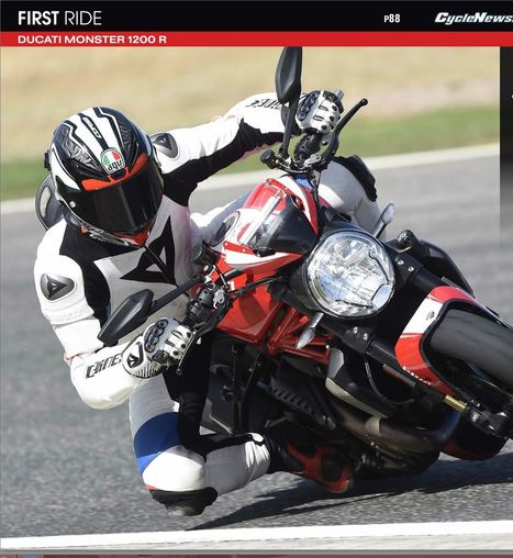 First Ride - Ducati Monster 1200 R | Ductalk Ducati News | Scoop.it