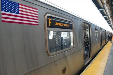 F train straphangers stand up to man harassing two Muslim women   SocialPsy.   Scoop.it