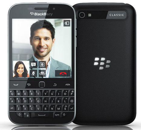 BlackBerry Classic Launched for $449, Features Largest QWERTY Keyboard | Smartphones | Scoop.it