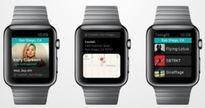 Bandsintown Brings Concert Listings To Apple Watch - hypebot | MUSIC:ENTER | Scoop.it