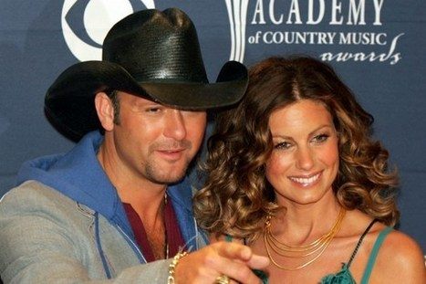 Tim McGraw and Faith Hill's Cutest Photos Through the Years | Country Music Today | Scoop.it
