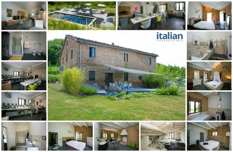 Best Le Marche Properties for Sale: Restored Country House, Force | Italian Properties - Italiaans Onroerend Goed | Scoop.it