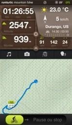 Runtastic Mountain Bike et votre smartphone guide vos sorties VTT ! | Course à pied et fitness | Scoop.it