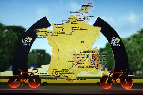 Zoom sur les nouveautés du Tour de France 2015 | Revue de presse internet | Scoop.it