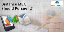 Pros And Cons Of Distance MBA Degree | MBA in India | Scoop.it