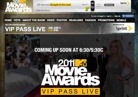 MTV trying a Twitter TV first for Movie Awards - Lost Remote | Richard Kastelein on Second Screen, Social TV, Connected TV, Transmedia and Future of TV | Scoop.it