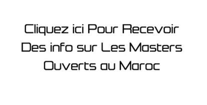 Master Maroc 2014/2015 الماستر بالمغرب: Déposer une candidature pour 2014/2015 au Master Informatique de Marseille | master au maroc 2014 2015 | Scoop.it