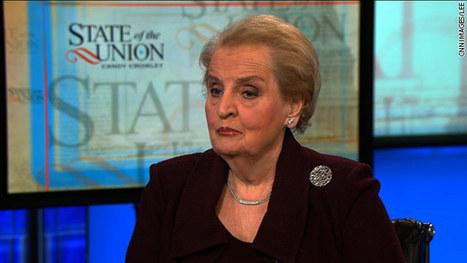 Albright says Snowden leaks 'hurt us very badly' - CNN (blog) | Intelligence information | Scoop.it