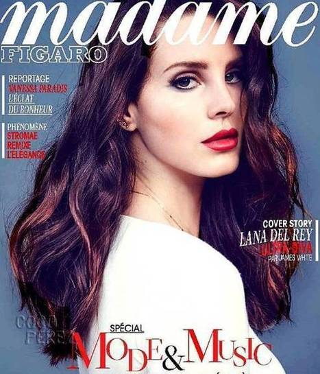 Lana Del Rey on cover - 'Madame Figaro' magazine 2014 | Lana Del Rey - Lizzy Grant | Scoop.it