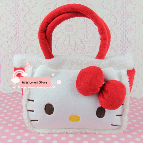 Aliexpress.com : Buy Fashion Hello Kitty Tote Bag Hello Kitty Plush Handbag Hello Kitty Bag from Reliable hello kitty handbag suppliers on  Miss Lyra | Hello Kitty | Scoop.it