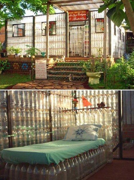16 maisons construites entièrement grâce à des matériaux recyclés | DIY | Scoop.it