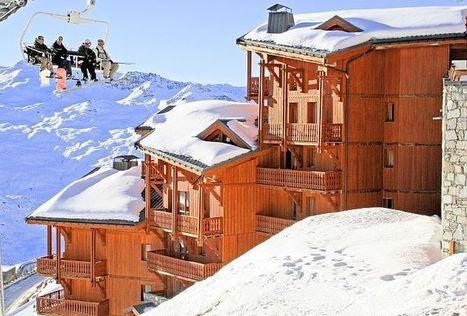 Appartement au #ski pour 18 personnes à #ValThorens encore dispo à #Noël | Actualité des vacances | Scoop.it