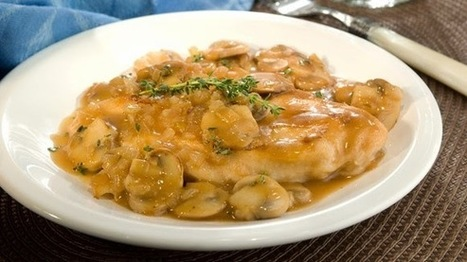 Amazing Recipe Made with Marsala Wine | Healthy Food & Easy Recipes | Scoop.it
