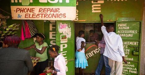 Die weißen Flecken auf der digitalen Weltkarte lichten sich   Afrika   Scoop.it