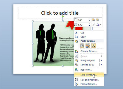 Save As Picture in PowerPoint 2010 | PowerPoint Presentation | Powerpoint Designs Free Download | Scoop.it