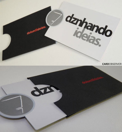 51 Beautiful Business Card Designs   La boite à inspiration   Scoop.it