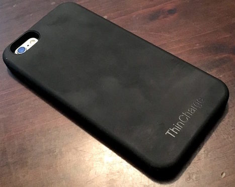 ThinCharge for iPhone review: an extremely slim battery case with a few big caveats | iPhoneography-Today | Scoop.it