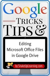 How to Edit Office Files in Google Drive | iwb's | Scoop.it
