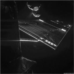 Philae spia la cometa C67P dalle spalle di Rosetta | Planets, Stars, rockets and Space | Scoop.it