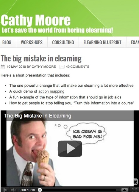 Elearning design: Why elearning is boring | Pedagogia Infomacional | Scoop.it