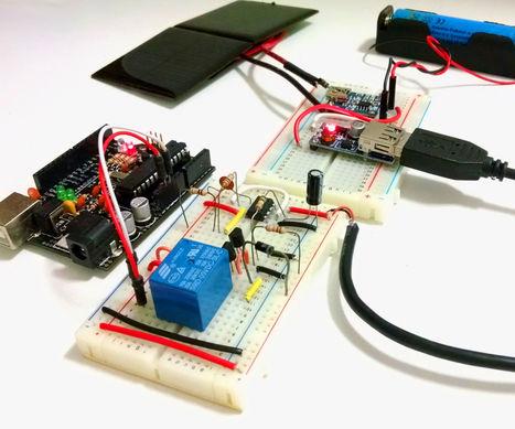 Solar charged battery powered Arduino Uno | Arduino, Netduino, Rasperry Pi! | Scoop.it