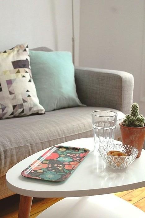 Une petite table basse pratique et déco – Cocon de décoration: le blog | Décoration | Scoop.it