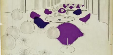Centre Pompidou : l'hommage à Pierre Paulin, designer d'avenir | L'actu design par la Cité du design | Scoop.it