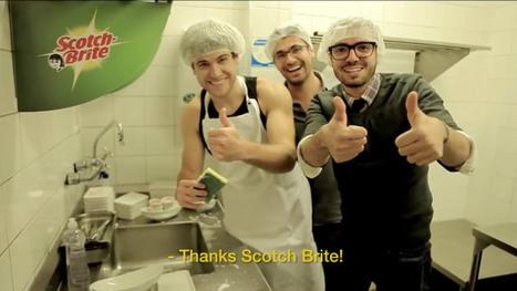 Ne payez pas l'addition au restaurant si vous faites la vaisselle avec une Scotch-Brite | PromoReview Septembre 2013 | Scoop.it