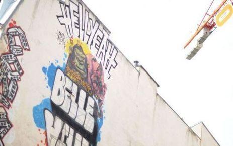 EN IMAGES. Paris : «Street Art» à Belleville - Le Parisien | Photo my design | Scoop.it