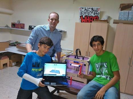 Alumnos de Noveno fabrican punteros para las pizarras digitales | Impresora 3D y Educación | Scoop.it