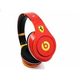 Limited Edition Monster Beats By Dr Dre Studio Red Ferrari MB120 | cheap ferrari beats by dre | Scoop.it