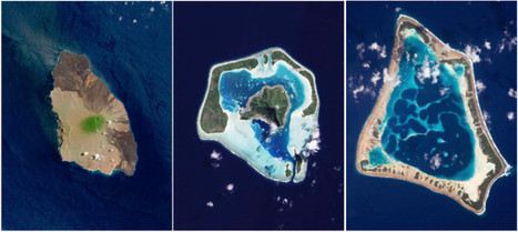Aerial Photographs Catalogue the Life and Death of Volcanic Islands | Teachers Toolbox | Scoop.it